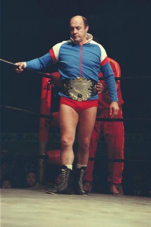 AWA世界ヘビー級チャンピオン バーン・ガニア
