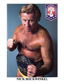 AWA世界ヘビー級チャンピオン ニック・ボックウインクル