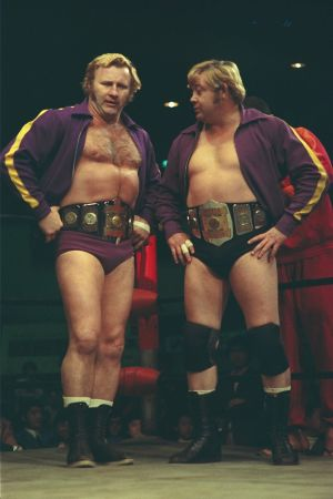 AWA世界タッグチャンピオン ニック・ボックウインクル&レイ・スティーブンス