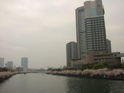 大阪城やビジネスパークが一望できます。