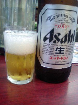 6日ぶりのビール