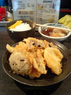 天ぷら盛合わせ七個
