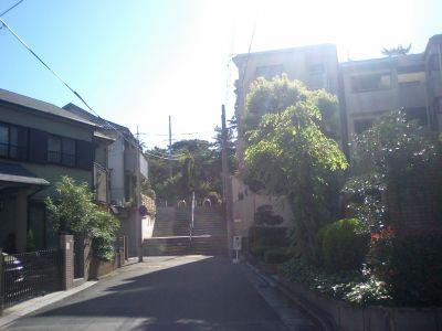 朝日がまぶしいぐらい良い天気