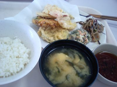 昼ごはん。