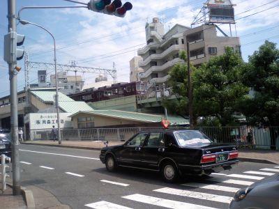 昔のまんま変わらない阪急王子公園駅(旧西灘駅)