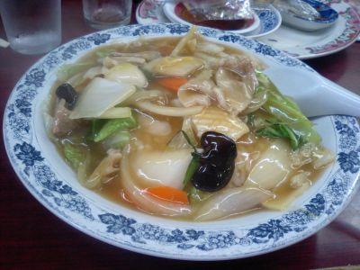 〆は、中華飯で
