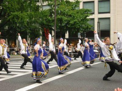 ハバロフスクの舞踊団