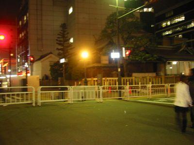 三宮神社を右折、メチャ近道やん!