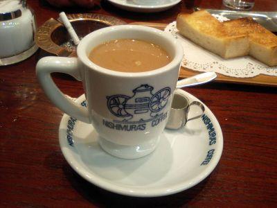 コーヒー、いつ飲んでもほんまに美味い