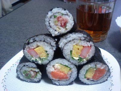 ダイエーの手巻き寿司