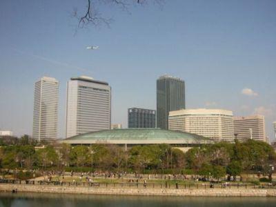 大阪城ホール&大阪ビジネスパーク