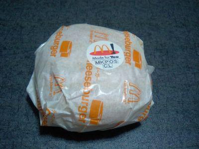 マクドのチーズバーガー