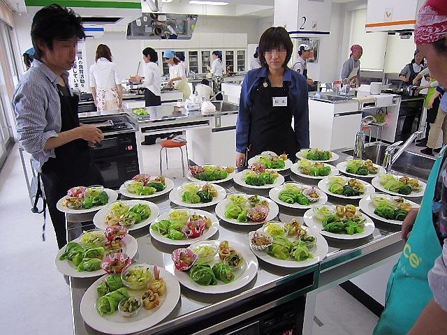 菜々食 野菜パーティクッキングに行ってきました。!(^^)!