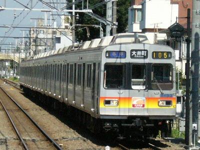 07.08.09 大井町線105ゥ 8693F