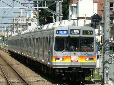 07.08.09 大井町線110ゥ 8081F