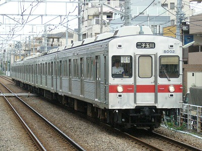 07.07.31 大井町線105ゥ 8001F
