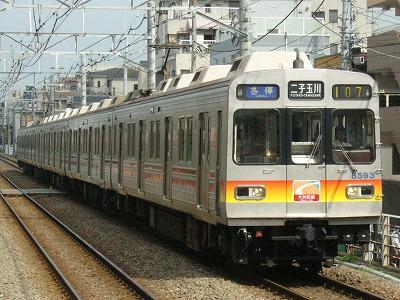 07.07.31 大井町線107ゥ 8693F