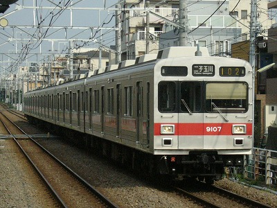 07.07.31 大井町線102ゥ 9007F