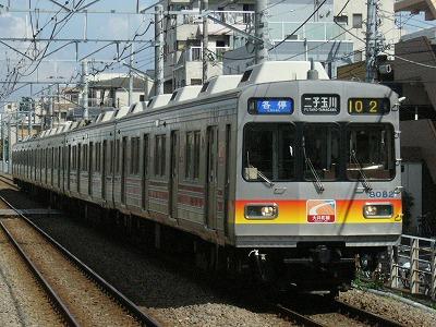 07.08.02 大井町線102ゥ 8081F