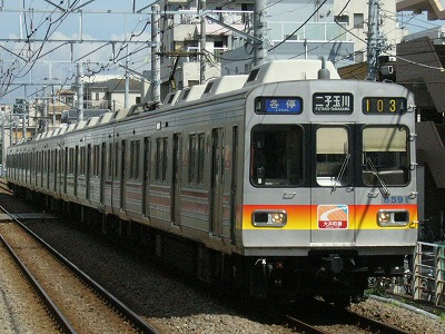 07.08.02 大井町線103ゥ 8691F
