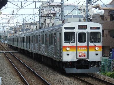 07.08.02 大井町線105ゥ 8640F
