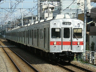 07.08.02 大井町線106ゥ 8001F