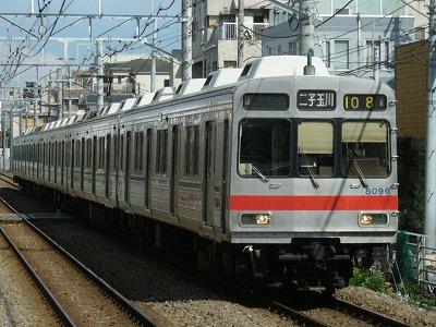 07.08.02 大井町線108ゥ 8095F