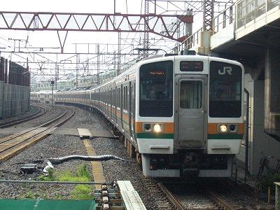 07.08.05 高崎線運番不明 回送