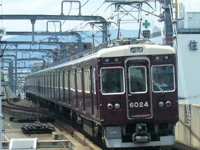 07.08.15 阪急宝塚線 6024F 普通梅田