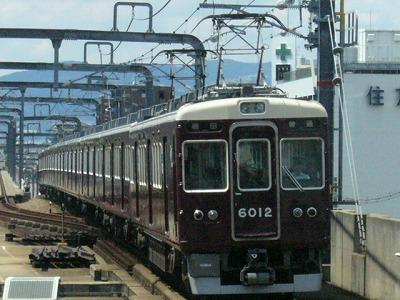 07.08.15 阪急宝塚線 6012F 普通梅田