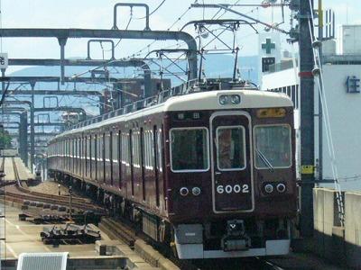 07.08.15 阪急宝塚線 6002F 急行梅田