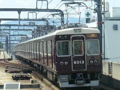 07.08.15 阪急宝塚線 6013F 急行梅田