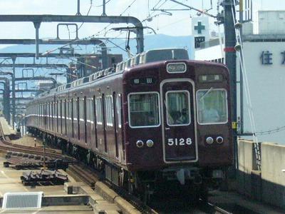 07.08.15 阪急宝塚線 5128F 普通梅田