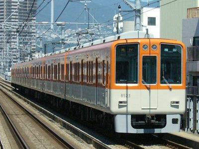 07.08.16 阪神本線 8523-8502F 急行梅田