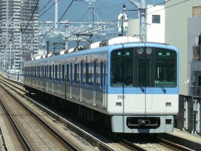 07.08.16 阪神本線 5501-5502F 普通梅田