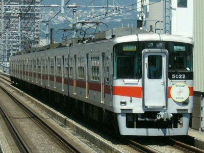 07.08.16 阪神本線 山陽5022F 直通特急梅田