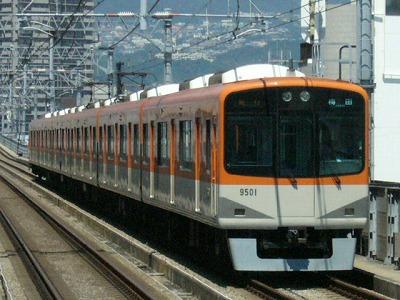 07.08.16 阪神本線 9501-9502F 急行梅田