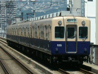 07.08.16 阪神本線 5331-5334F 普通梅田