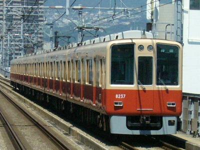 07.08.16 阪神本線 8237-8238F 急行梅田