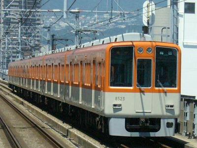 07.08.16 阪神本線 8523-8502F 急行梅田(2回目)