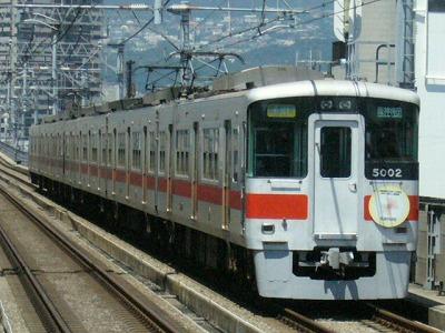 07.08.16 阪神本線 5002F 直通特急梅田