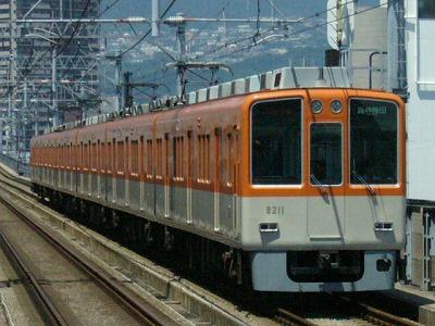07.08.16 阪神本線 8211-8212F 直通特急梅田