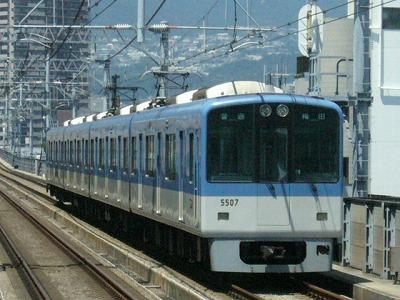 07.08.16 阪神本線 5507-5508F 普通梅田