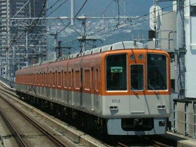 07.08.16 阪神本線 8219-8220F 特急梅田