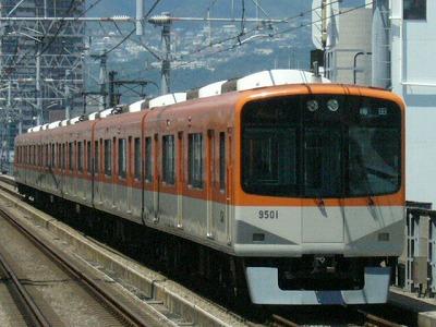07.08.16 阪神本線 9501-9502F 急行梅田(2回目)