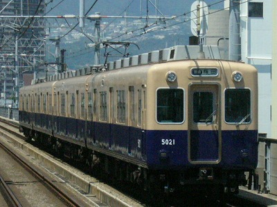 07.08.16 阪神本線 5021-5024F 普通梅田