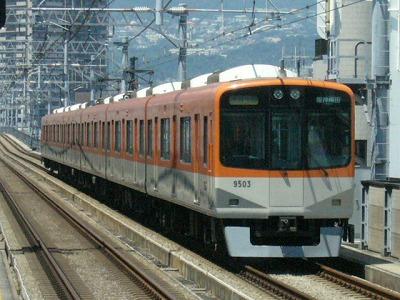 07.08.16 阪神本線 9503-9504F 直通特急阪神梅田