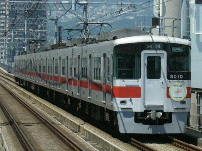 07.08.16 阪神本線 山陽5010F 直通特急梅田