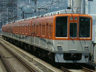 07.08.16 阪神本線 8523-8502F 急行梅田(3回目)