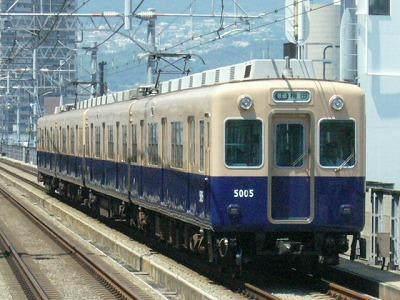 07.08.16 阪神本線 5005-5008F 普通梅田